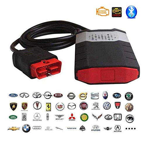ZNZN 2019 Vd Tcs Cdp PRO Plus 2016 R0 / 2015 R3 Bluetooth Gratuito Keygen Vd Ds150E Cdp PRO per Delphi Obd2 Tool Strumento Diagnostico di Guasto Auto