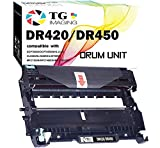 (1-Pack, Drum) Compatible DR450 DR-420 Drum Unit (12,000 Pages) Use for HL-2240 HL-2240D 2270DW 2280DW MFC-7360N 7460DN 7860DW IntelliFax-2840 2940 DCP-7060D 7065DN Printer, by TG Imaging