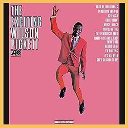 Exciting Wilson Pickett/Vinyle Noir Audiophile 180gr