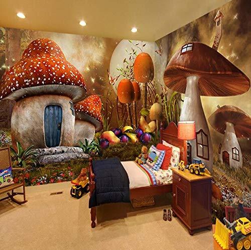 Kinderkamer, Slaapkamer, Kleuterschool, Kleding Winkel, Cartoon Thema, Persoonlijkheid, Muur, 3D, Forest Fairy Tale, Mural, Wandtapijt. 200×150cm 200×150cm