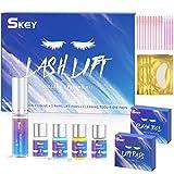 SKEY Kit de Permanente de Pestañas, Eye Lash Lift, Lash Lift Kit, Kit Profesional Lifting de Pestañas Permanente, Duradero y Natural.Pinzas para el pelo para niñas (S)