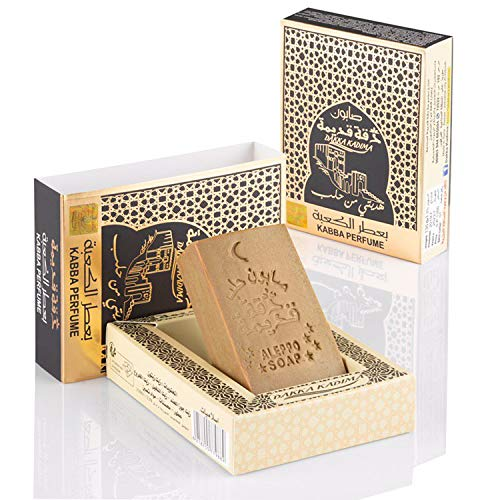 Dakka Kadima Kabba Perfume Original Aleppo Seife - Oud, Amber, Musk and Sandal