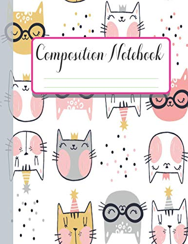 Composition Notebook: Pusheen Cat & Dog Journal and Notebook for Girls and Boys - Pusheen Cats Notebook 8-1/2 inch by 11 - Lined and Blank 110 Pages to Journaling (Pusheen Notebooks and Journals)
