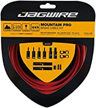 Jagwire Pro Brake Cable Kit Mountain for SRAM/Shimano, Red