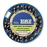 Zebco Bleischrot-Sortiment 100g. grob, 100 g
