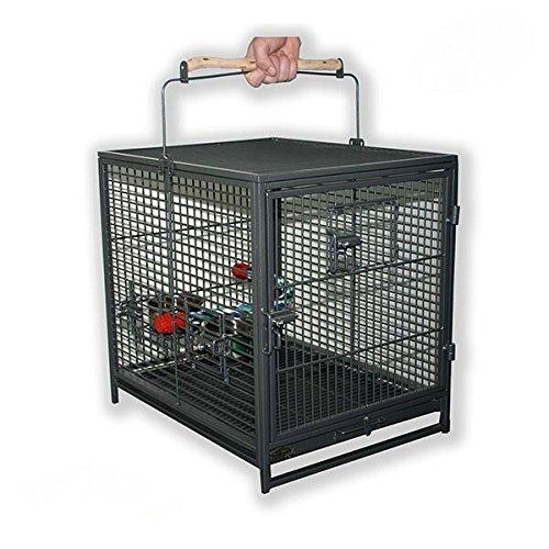 Montana Cages ® | Transportkäfig EVO für Sittiche & Papageien, der Reisekäfig in der Farbe Antik