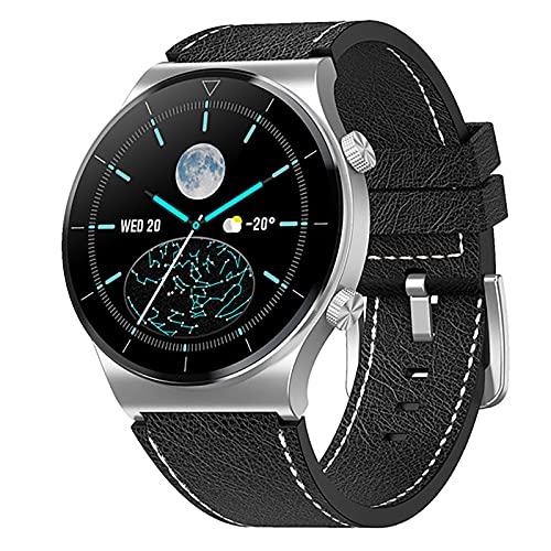ZGZYL M99 Reloj Inteligente para Hombres con Oxígeno En La Sangre Ritmo Cardíaco Presión Arterial Reloj Inteligente Rastreador De Fitness Trankwatch Step Counting Calorie Sports Watch,C