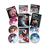 DAKER PiYo DVD, Chalene Johnson Pilates Yoga Workouts Fitness Program