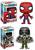 Funko POP! Spider-Man Homecoming: Spider-Man + The Vulture - Marvel Vinyl Bobble-Head Figure Set NEW...