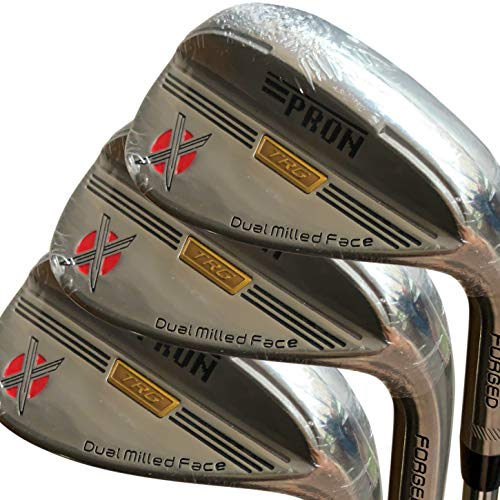 Pron Japan TRG Lot de 3 clubs de golf Wedge Finition...
