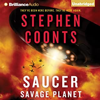 Saucer: Savage Planet audiobook cover art