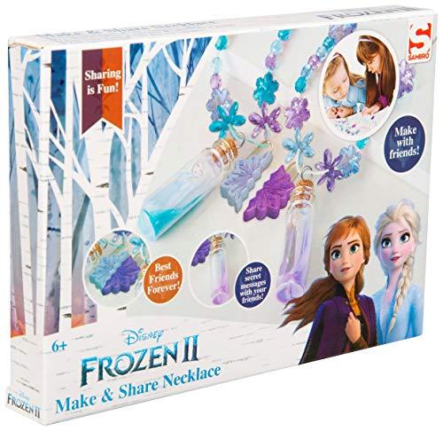 Disney Frozen 2 Make and Share - Juego de collar