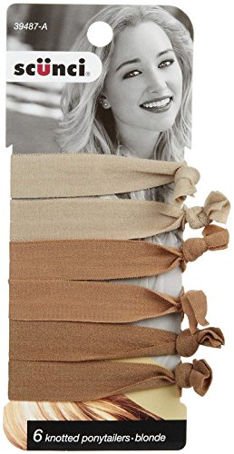Scunci Knot Ponytailers - Blonde