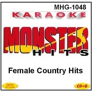 Monster Hits Karaoke #1048 - Female Country Hits