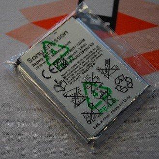 BST-33 originale per Sony Ericsson Li-polimero batteria (950 mAh)