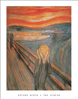 Classico Edvard Munch The Scream Art Print Poster 11 by 14