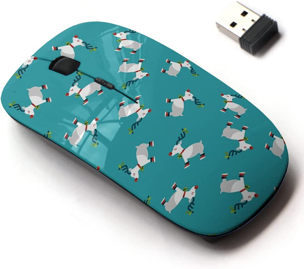 2.4G Wireless Mouse with Cute Pattern Super-cheap All and A surprise price is realized Design for Laptops