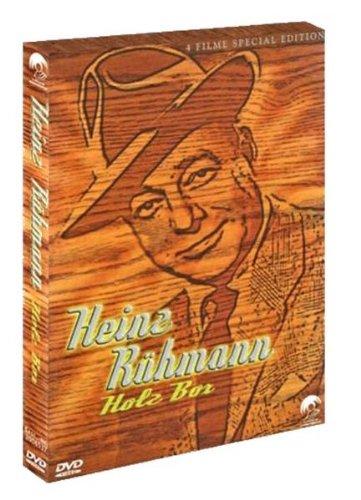 Heinz Rühmann Holz Box - 4 Filme Special Edition (Das Geheimnis der roten Katze / Der Stolz der 3. Kompanie / Himmel auf Erden