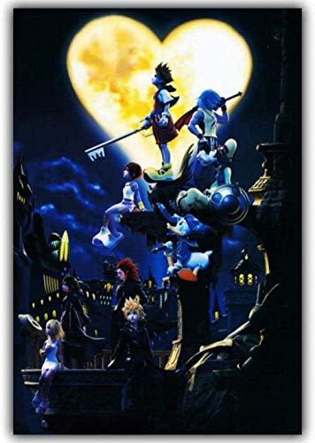 LDTSWES Rompecabezas Kingdom Hearts Puzzle Rompecabezas De Madera Rompecabezas De Madera Rompecabezas Ni?os Juguetes De Madera Imagen 1000 Pieza 50X75Cm