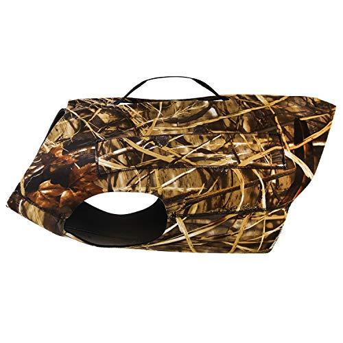 "GUGULUZA Neoprene Dog Vest Hunting Safety Vest Camo,5mm Neoprene S - XXXL (S-(16"" Neck, 24"" Chest))"