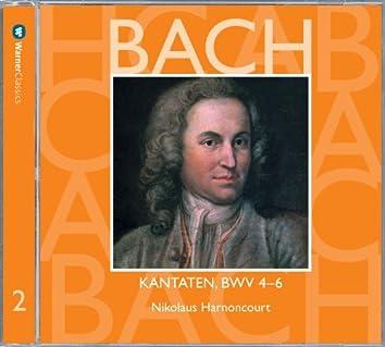 Bach, JS : Sacred Cantatas BWV Nos 4 - 6