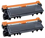 Ti-Sa TN2320 2 Cartuchos de tóner para impresoras Brother MFC-L 2700 DW Colour Negro