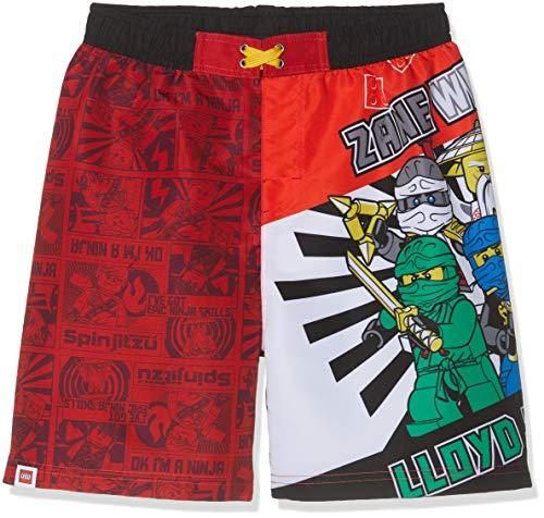LEGO NINJAGO Jungen 5724 Boxershorts, Rot (Rouge Rouge), 10 Jahre