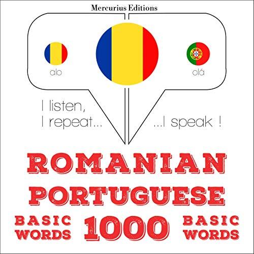 Romanian - Portuguese. 1000 basic words cover art