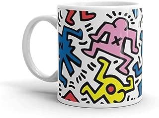 Haring Mug 11 Oz White Ceramic