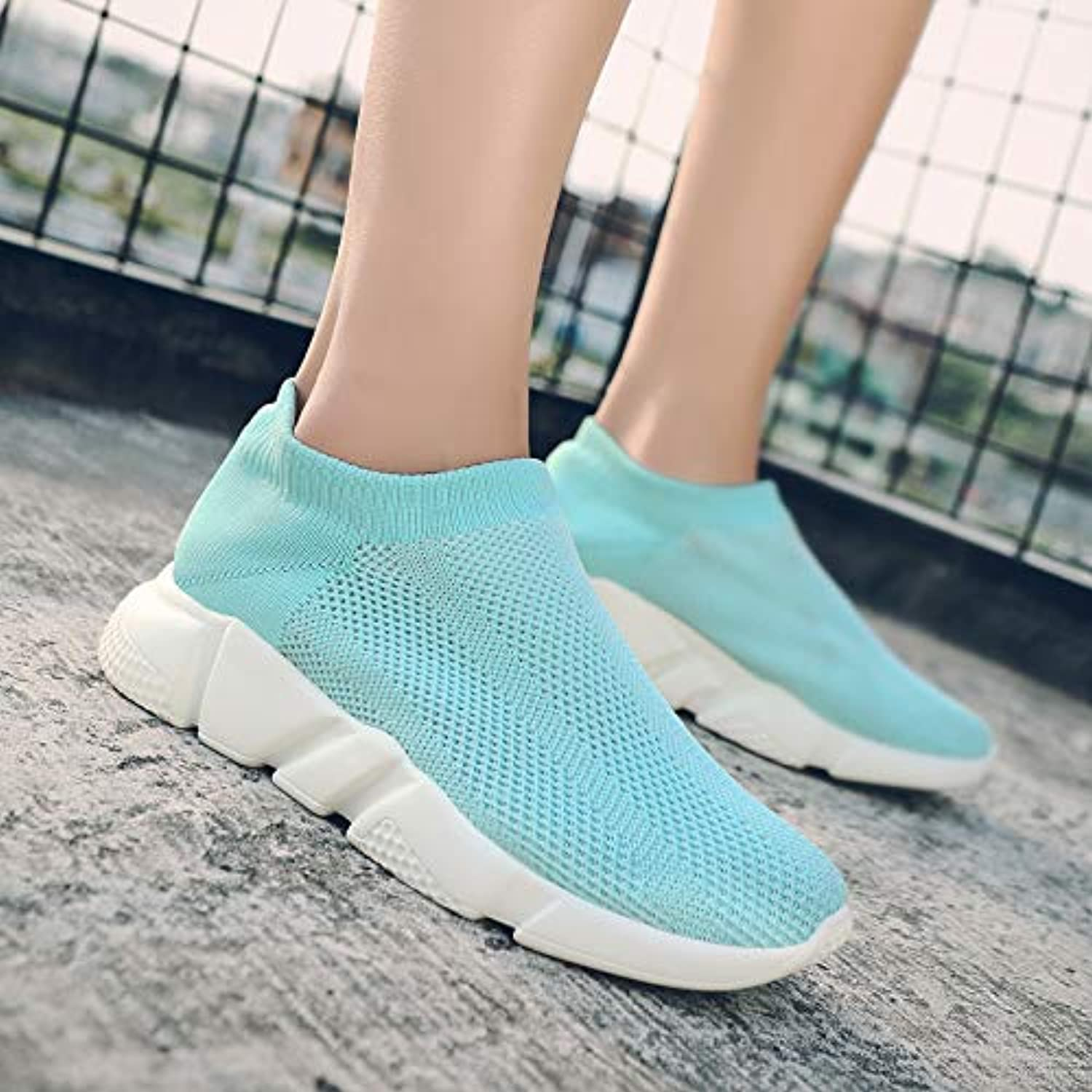 HCBYJ Socks shoes Mesh breathable summer casual sports shoes men's socks shoes a pedal lazy shoes men's shoes comfortable socks shoes