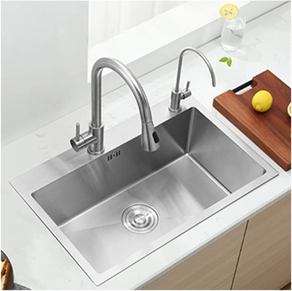 ADKINC Max 74% OFF 31 in Double Bowl Steel 304 Kitchen Stainless Sink Max 65% OFF