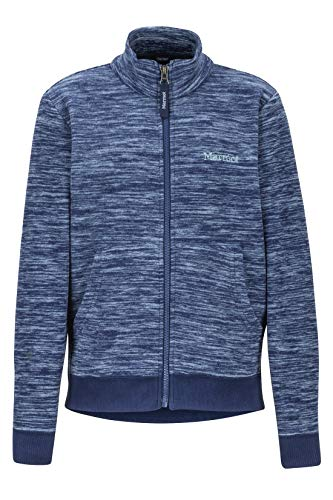 Marmot Jungen Couloir Fleecejacke Outdoorjacke, Atmungsaktiv, Arctic Navy Heather, XS