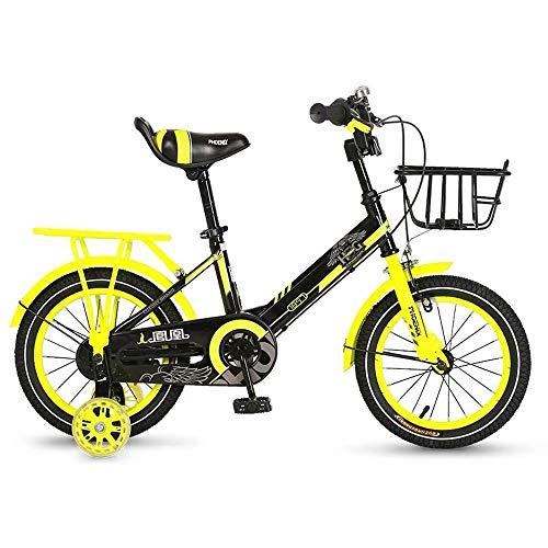 Find Discount HWZQHJY Sidewalk Freestyle Bike for Kids, Children and Beginner-Level Riders, Featurin...