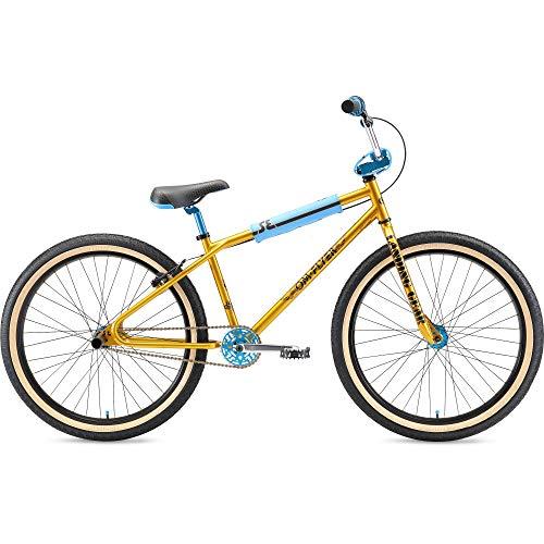 SE Bikes OM Flyer 26R BMX Bike 2021 (38cm, Gold)