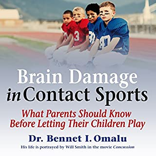 Brain Damage in Contact Sports audiobook cover art