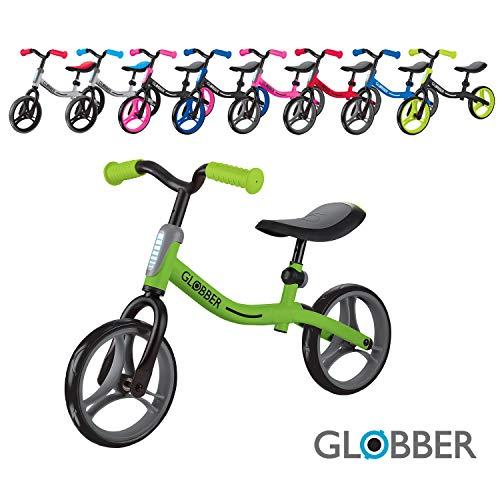 Globber Go Bike 610-106 - Bicicleta, Color Verde
