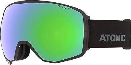 Atomic COUNT 360° HD Unisex Skibril, Zwart, NS