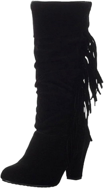 AicciAizzi Women Classic Boots Pull On