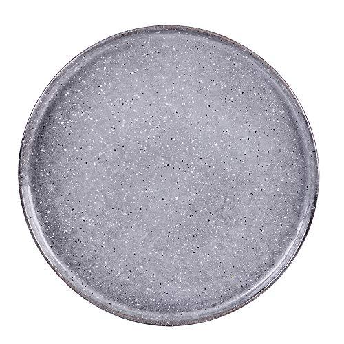 - assiette à dessert 22.5 cm stone (lot de 6)