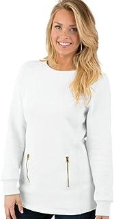 Charles River Apparel Women's North Hampton Drop Tail Sweatshirt