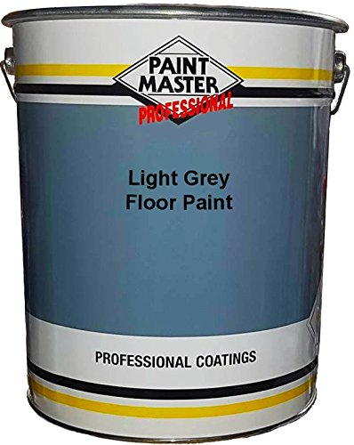 Peinture Industriel Sol, Béton Polyuréthane 20 ltr - Gris