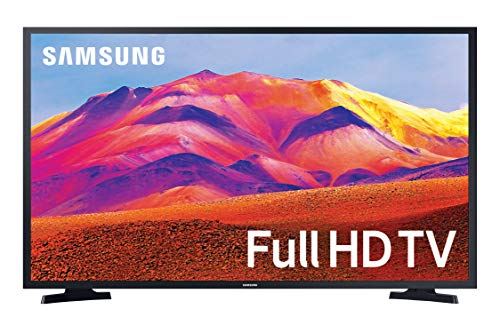 "Samsung TV T5372 Smart TV 32"", FHD, Wi-Fi, Black, 2020"