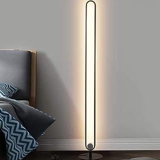 23W LED Lámpara de Pie - Lámpara de pie minimalista,Lámpara de pie LED creativa minimalista postmoderna de metal, Bajo Consumo, Lámpara Moderna para Salón, Dormitorio y Oficina 4000K Luz neutra