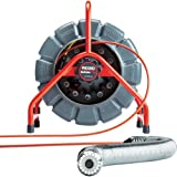 RIDGID 48488 SeeSnake Mini Video Pipe Inspection Camera, Plumbing Snake Camera and Sewer Camera Locator with 200-Foot Reel and Self-Leveling Color Video Inspection Camera