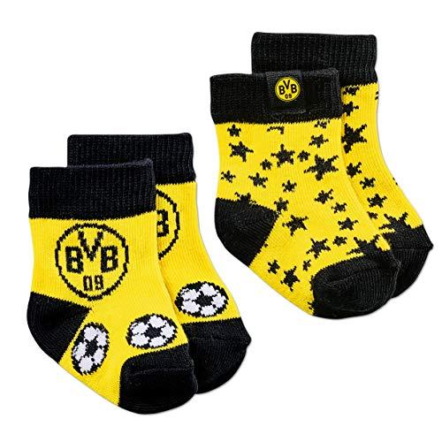 Borussia Dortmund BVB-Kleinkindersocken (2er-Pack) 01