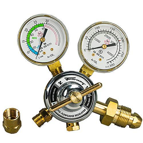 Forney 85363 Argon/CO2 Regulator Kit for Mig Welder, 5/32-Inch