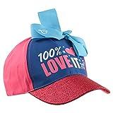 Nickelodeon Kids Baseball Hat for Girls Ages, JoJo Cap, Blue, Age 4-7