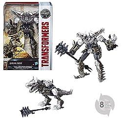 3. Transformers The Last Knight Premier Edition Voyager Class Grimlock Figure