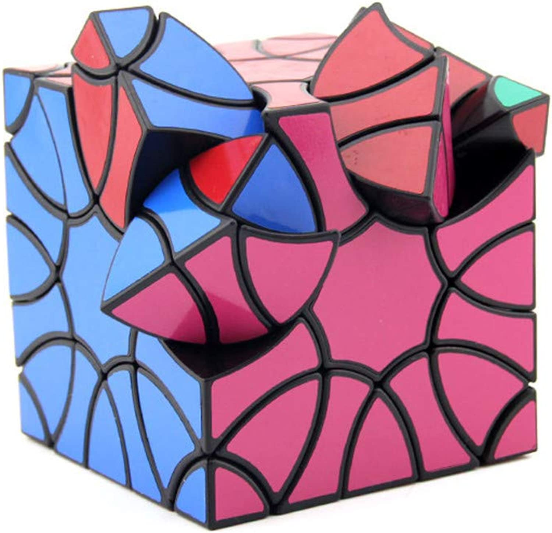 Jingya Zauberwürfel High Difficult Würfel Spielzeug 3D Würfel Schalten Gehirntraining Spiel Bildung Spielzeug 3,5 X 3,5  X 3,5