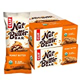 CLIF Nut Butter Bar - Organic Snack Bars - Peanut Butter - (1.76 Ounce Protein Snack Bars, 24 Count)
